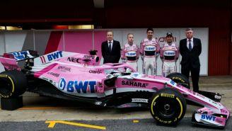 Force India presenta el nuevo automóvil VJM11