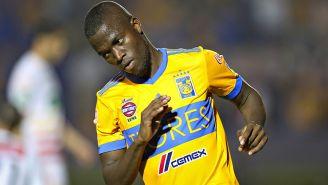 Enner Valencia durante el partido contra Herediano