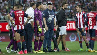 Vergara, durante el partido Final del torneo C2017 de Copa MX