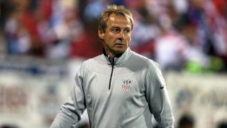 Jürgen Klinsmann durante su etapa como DT de Estados Unidos