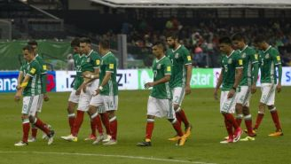 Seleccionados tras un juego en el Azteca contra Panamá