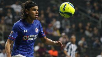 Jerry Flores durante el partido contra Monterrey