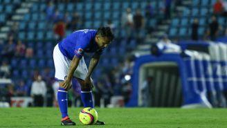 Montoya se lamenta frente a un Estadio Azul casi vacío