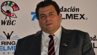 Mauricio Sulaimán en un evento del CMB