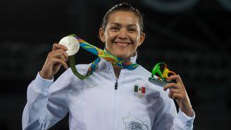 María del Rosario luce medalla