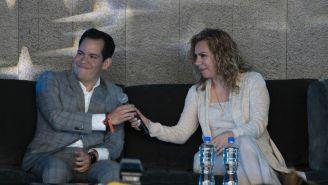 Dorian Roldán sonríe en conferencia de prensa de AAA