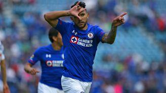 Walter Montoya festeja gol con seña característica de rapero mexicano