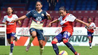 América y Veracruz en disputa del esférico