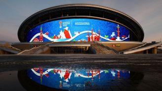 La Kazán Arena será uno de los estadio para el Mundial de Rusia