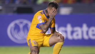 Eduardo Vargas se lamenta en el partido contra Toronto