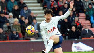Heung Min-Son falla disparo con Tottenham