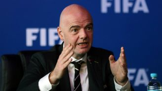 Gianni Infantino, durante el congreso de la FIFA