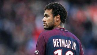 Neymar, en un duelo del PSG