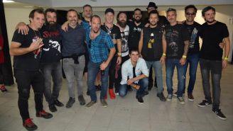 La Beriso posa con otra banda en México