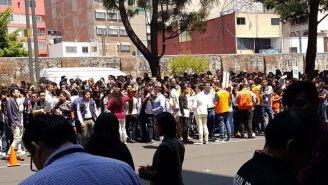 Gente fue evacuada en algunas zonas de la Ciudad