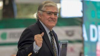 Nelson Vargas, en la entrega de reconocimientos de la FMN