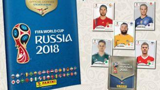 Álbum Panini del Mundial de Rusia 2018