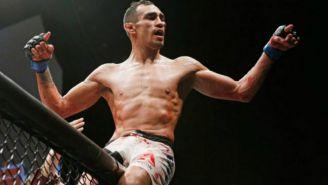 Tony Ferguson después de una pelea en UFC