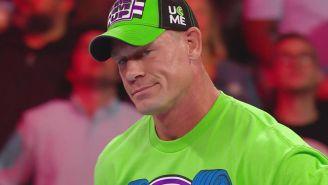 John Cena durante Monday Night RAW