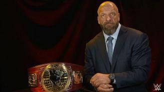 Triple H presenta el título de Norte América