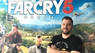 Drew Holmes, contento con el resultado en Far Cry 5