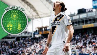 Zlatan se lamenta en un partido del Galaxy