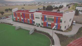 Edificio del CEMA en la Universidad del Futbol