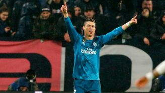 Cristiano Ronaldo festeja uno de sus goles