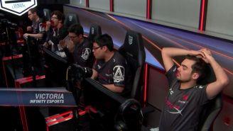 La reacción de los jugadores de Infinity tras vencer a 6Sense