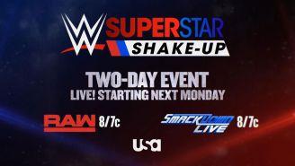 Promocional del draft de la WWE