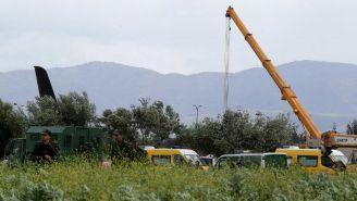El ejercito continua en la zona del accidente aéreo