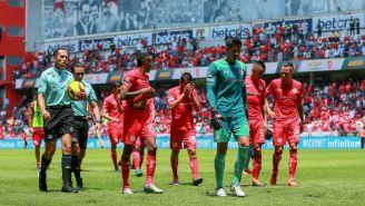 Toluca lamenta jugada incorrecta frente a Tigres