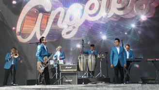 Los Ángeles Azules, durante su presentación en Coachella