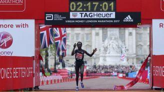 Mary Keitany, ganadora del Maratón de Londres 2017