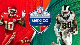 Chiefs y Rams anuncian duelo en el Estadio Azteca
