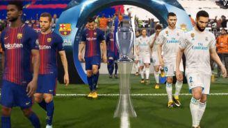 Así lucía la Champions League en PES 2018