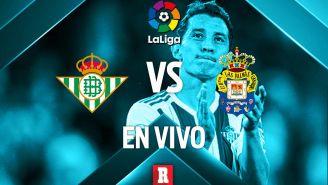 EN VIVO Y EN DIRECTO: Real Betis vs Las Palmas