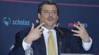 Sulaimán durante una conferencia de prensa