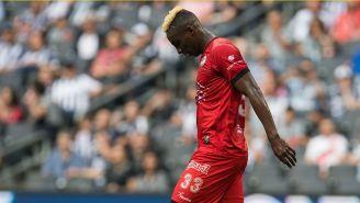 Quiñones se lamenta tras el juego contra Rayados