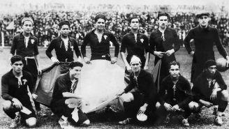Foto oficial del Tri en la Copa del Mundo de 1930