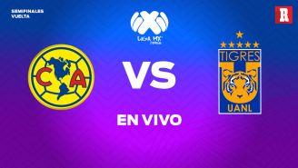 América y Tigres se miden para conocer al primer finalista de Liga MX Femenil