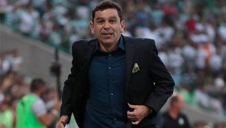 David Patiño, durante el juego de Pumas contra Santos