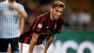Biglia se duele de la espalda en el duelo del Milan