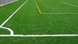 Detalles de una cancha de futbol