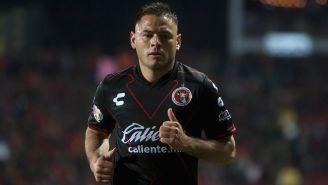 Pablo Aguilar, durante un juego con Tijuana en el C2018