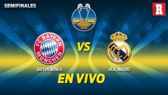 EN VIVO Y EN DIRECTO: Bayern Munich vs Real Madrid