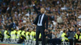 Zidane da indiciaciones en partido de Champions