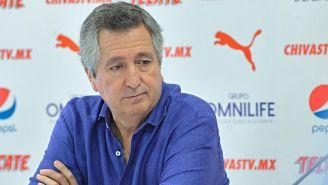 Jorge Vergara en conferencia de prensa