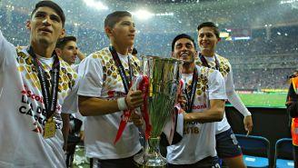 Chivas festeja título de Concachampions