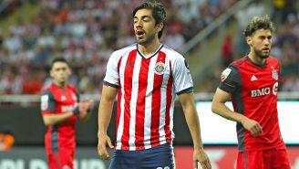 Pizarro, durante el juego frente al Toronto FC